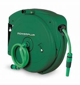 Enrouleur Automatique Tuyau Arrosage : varo enrouleur tuyau d arrosage 20 m pow63857 ~ Premium-room.com Idées de Décoration