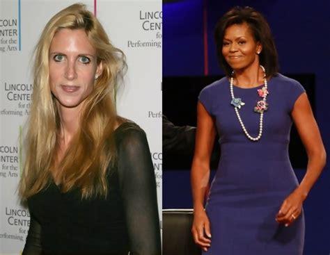 ann coulter disses michelle obamas fashion sense ann