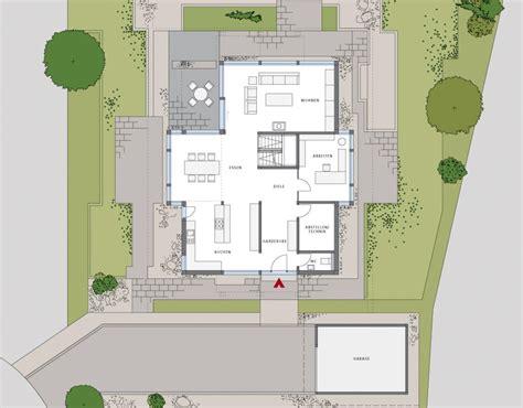 Moderne Häuser Und Grundrisse by Modernes Einfamilienhaus Grundriss