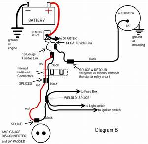 F150 Alternator Fusible Link Wiring Diagram