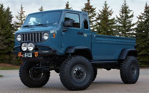 jeep wrangler pickup concept jeep mighty fc concept front1 photo 4