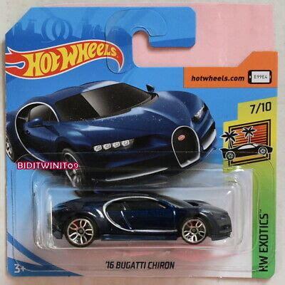 2019 bugatti chiron hot wheelswelcome to raiacars.com, the next review about 2019 bugatti chiron hot wheels from bugatti cars. HOT WHEELS 2019 CASE N HW EXOTICS '16 BUGATTI CHIRON DARK BLUE SHORT CARD 4+   eBay