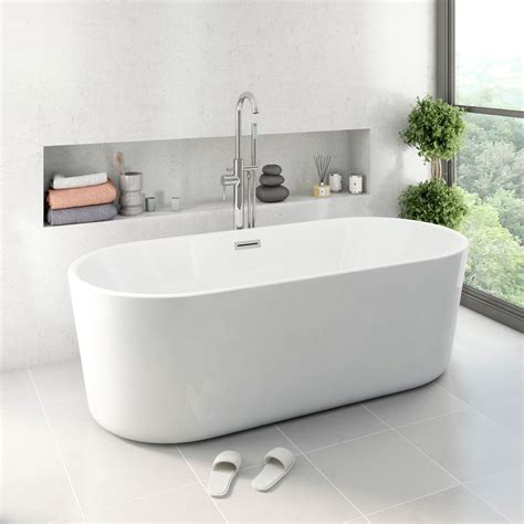 mode tate freestanding bath    victoriaplumcom
