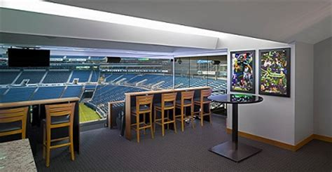 vip access luxury corporate skybox suite