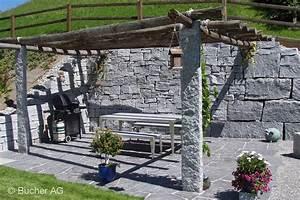 Pergola Holz Pergola Holz Mit Sonnensegel Ged Sitzplatz Sonnenschutz ...