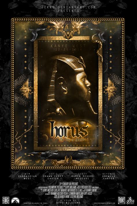 King And Of Illuminati by Kanye West In Horus The King Of Illuminati By Jekks On
