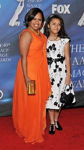 ACTRESS CHANDRA WILSON AND DAUGHTER AT NAACP IMAGE AWARDS ...