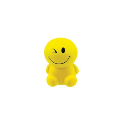 objet anti stress bureau anti stress smiley assis publicitaire personnalisé