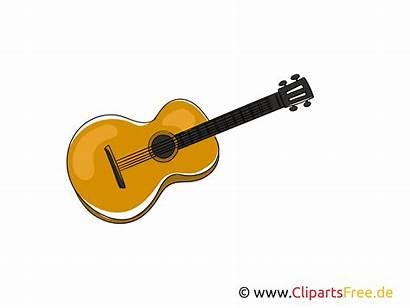 Clipart Cartoon Gitarre Grafik Musik Tecknad Bild