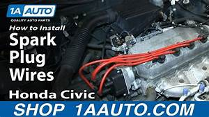 How To Replace Spark Plug Wires 92-00 Honda Civic