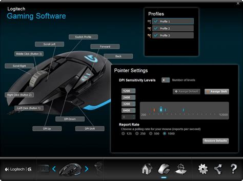 amazon com logitech g502 proteus tunable gaming