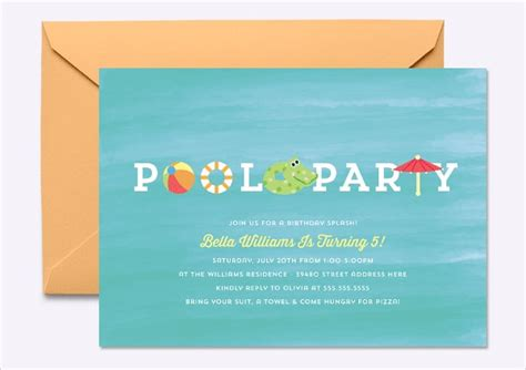 19+ Kids Party Invitation Designs & Templates PSD AI
