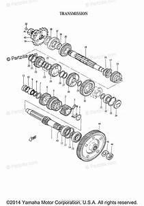 Yamaha Motorcycle 1965 Oem Parts Diagram For Transmission