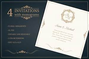 wedding invitation card template 10 psd ai and vector With wedding invitations ai template