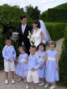 cortege josephine fuchsia et gris perle corteges d39ete With amazing mariage de couleur avec le gris 10 idees et photos pour tenue denfant dhonneur tenue de