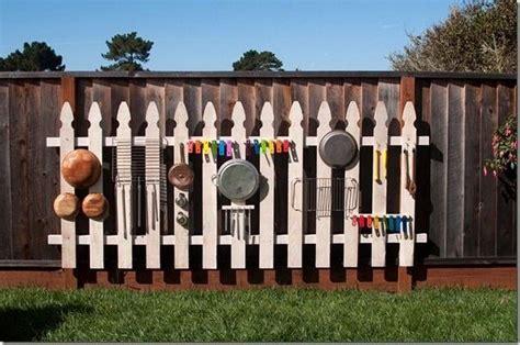 diy outdoor  wall backyard play spaces backyard