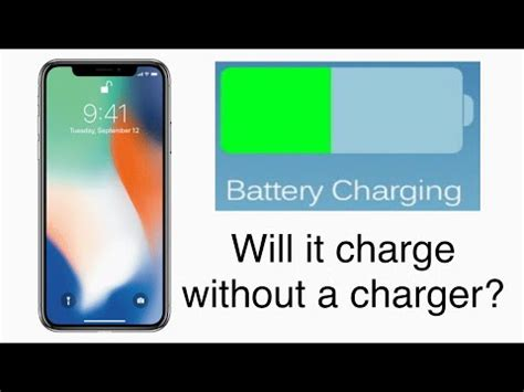 how to charge an iphone without a charger charging an iphone without a charger test will it charge
