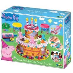 peppa pig peppa 39 s birthday cake dough play set target