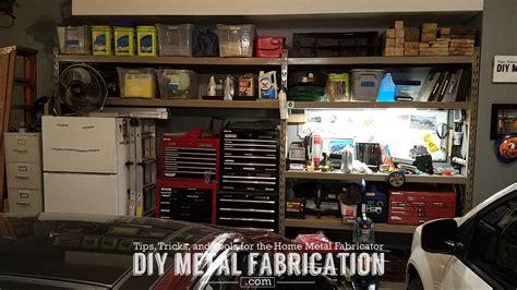 diy metal fabrication moving installing  garage