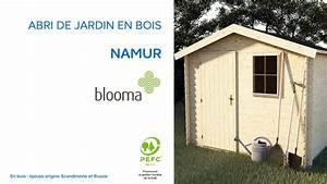 Abri De Jardin En Bois Namur BLOOMA 630680 Castorama