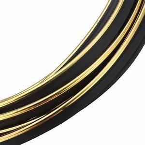 4mmx5m Auto Chrom Zierleiste Flexible Streifen Dekor