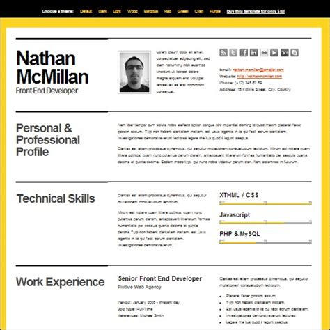 Smart Cv Format by 35 Best Cv And R 233 Sum 233 Templates Idevie