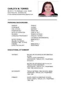 resume update login carlota m torres updated resume