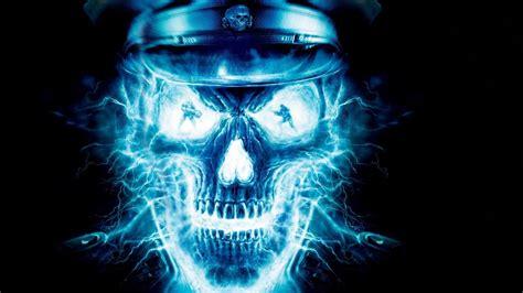 Skull Animated Wallpaper - wolfenstein skull hd desktop wallpaper widescreen high