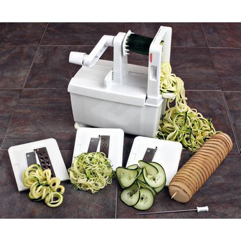 paderno cuisine spiral vegetable slicer 4 blade spiral vegetable slicer paderno hotel