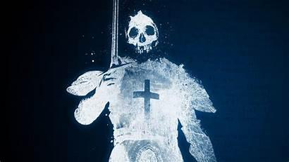 Crusader Ghost Skull Knight Knights Death Desktop