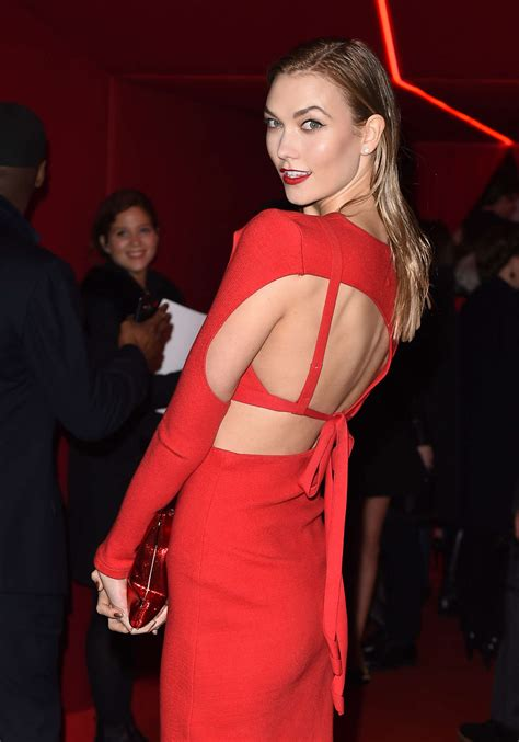 Karlie Kloss Attends Oreal Red Obsession Party