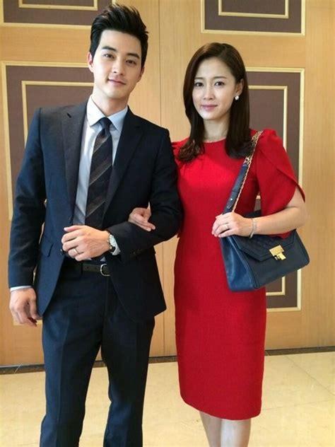 kim ji hoon i and nam sang mi at a wedding hancinema