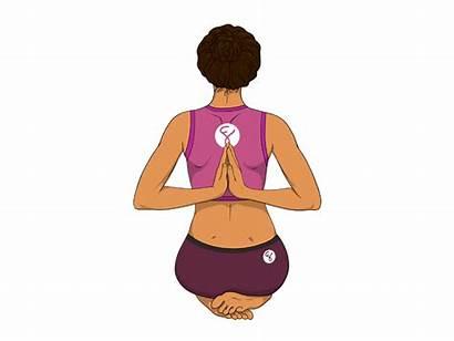 Prayer Reverse Pose Yoga Poses Hands Forte