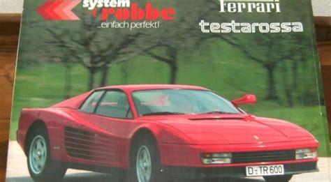 Robbe Ferrari Testarossa No. 3748, 1/10th | Classic and ...