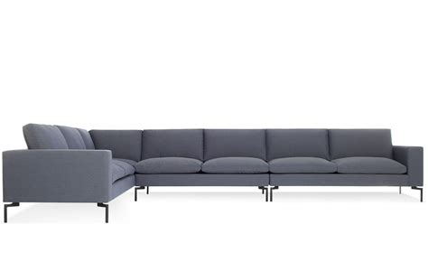 large loveseat new standard large sectional sofa hivemodern