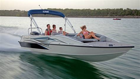 Lowe Boats Images research 2016 lowe boats sd224 sport deck fish on