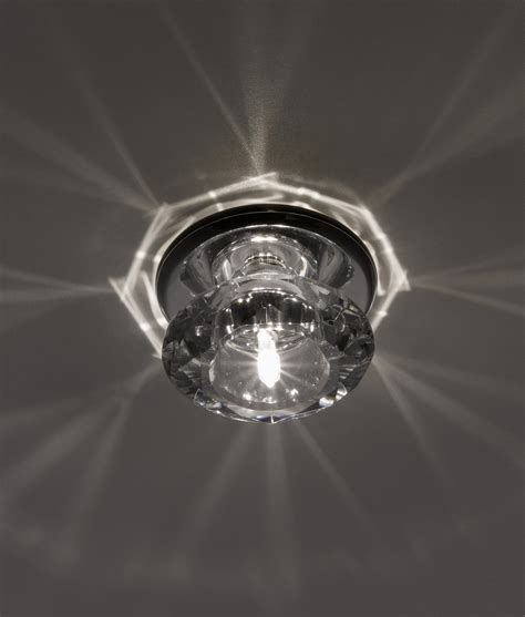 Outdoor Lamps Uk by Contemporary Chrome Amp Crystal Downlight For Decorative