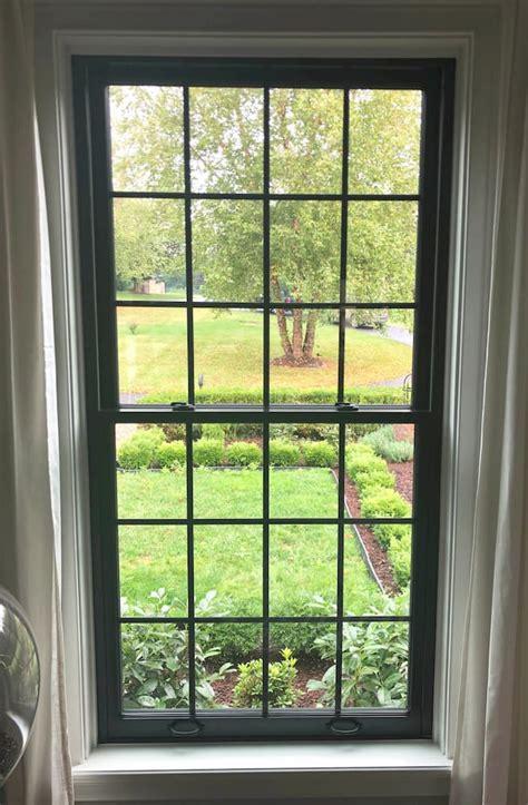 black windows modernize colonial home pella philadelphia
