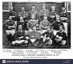 Scotland v England 1890 photo of the Scottish team that ...