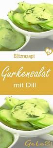 Dillsauce Einfach Schnell : die besten 25 gurkensalat mit dill ideen auf pinterest gurkensalat dill dill rezepte und ~ Watch28wear.com Haus und Dekorationen