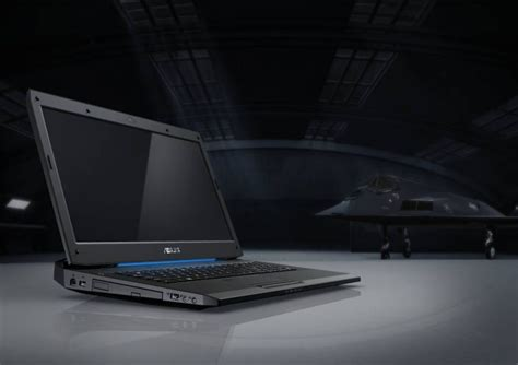 stealth fighter inspired gaming laptop asus rog gjh