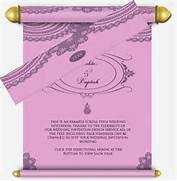 Pastel Pink Purple Email Wedding Invitation Scroll Design In Email Wedding Invitations Purple Wedding Invitations Wedding Links Added As A Footer To The Email Are Also Displayed In The Email Wedding Invitation Email 91 Inspiration With Wedding Invitation Email