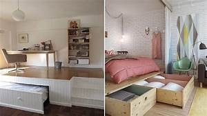 amenager une petite chambre a coucher idees et conseils With amenager une chambre pour 2