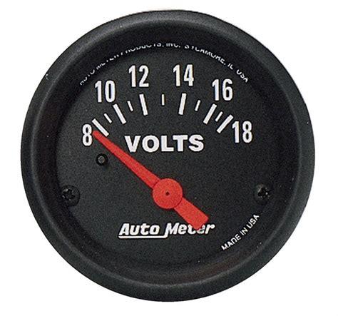 Auto Meter 2645 Zseries Voltmeter Gauge