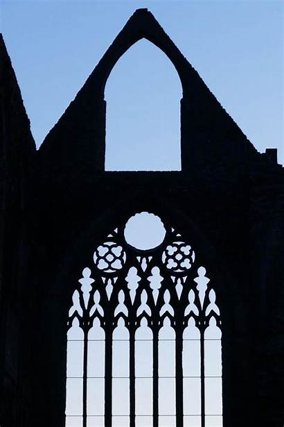 Window Abbey Tintern Tracery Heritage Drawing Downloading