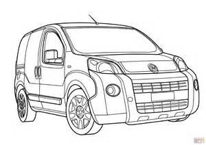 Fiat Panda Kleurplaat by Fiat Fiorino Coloring