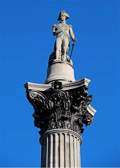 Nelson Column London Trafalgar Square Nelsons Lord