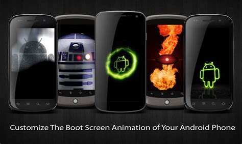 android customization how to create change and customize android boot animation