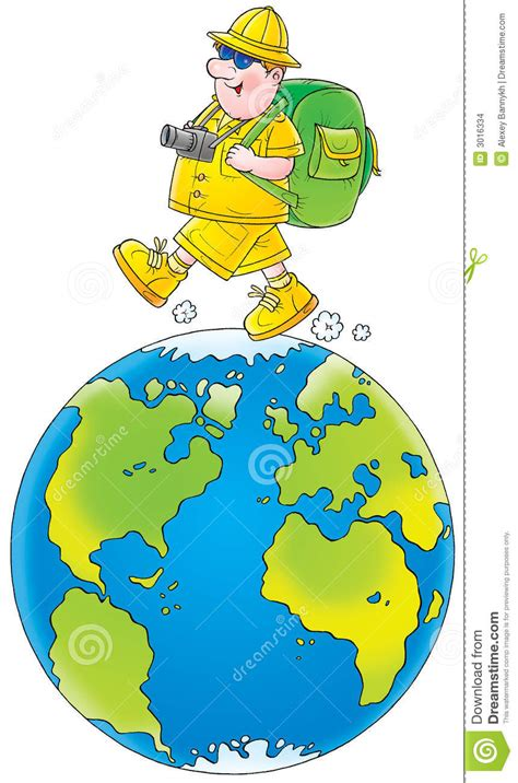 Travel All Over The World Stock Illustration Image Of