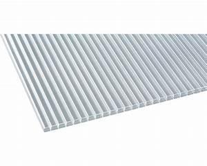 Plaque Polycarbonate Alvéolaire Brico Depot : panneau alv ol polycarbonate transparent 3000x980x16 mm ~ Nature-et-papiers.com Idées de Décoration